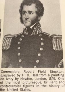 Commodore Robert Stockton