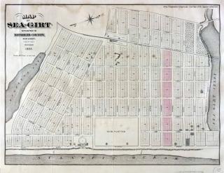 Sea Girt 1884 Map